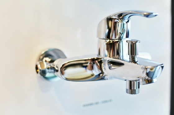 Fancy faucets come from Europe and Japan. They have silky movements and super shiny surfaces you can check your teeth in.